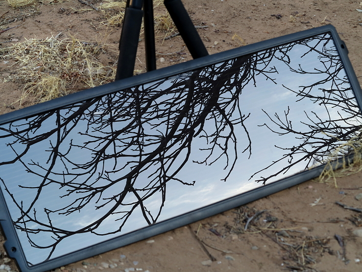 Solar Panel Reflections