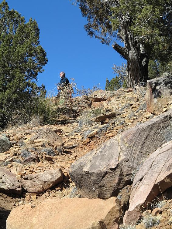 Clifford on the El Cerro Trail