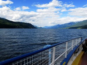 Ferry Crossing - Kootenay Lakes, British columbia